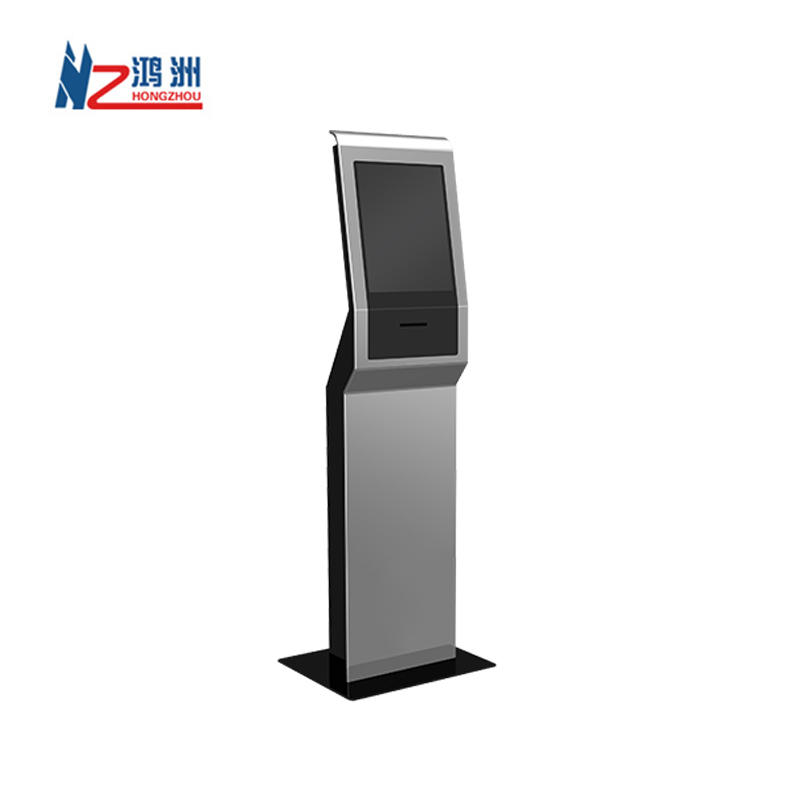 Multitouch Floor Stand Self-service Kiosk in Restaurant