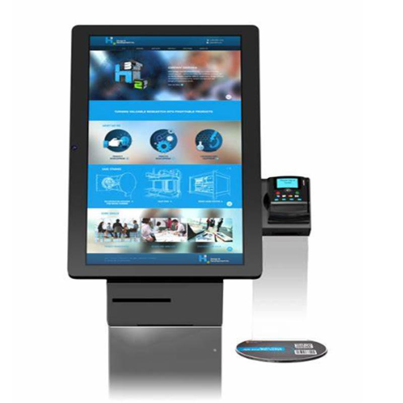 patients medical card distributing kiosk