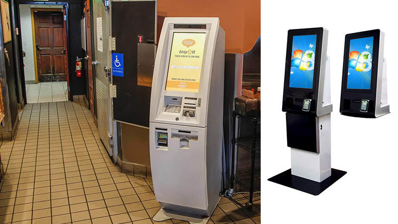 Kiosk Machine Manufacturer Multifunction Payment Kiosk with Card Reader