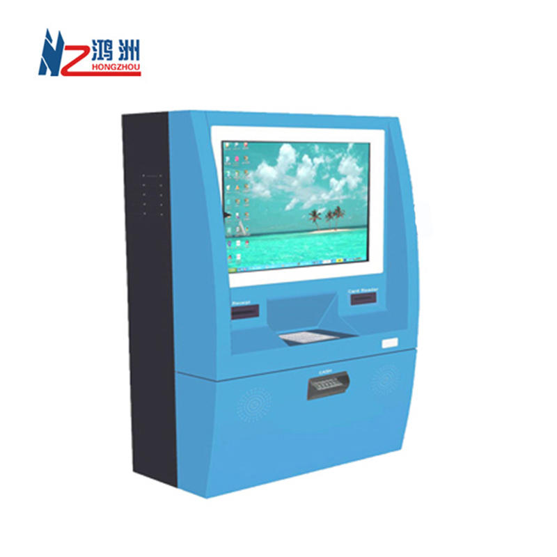 Wall Mounted Payment Kiosk With Printer and Card reader