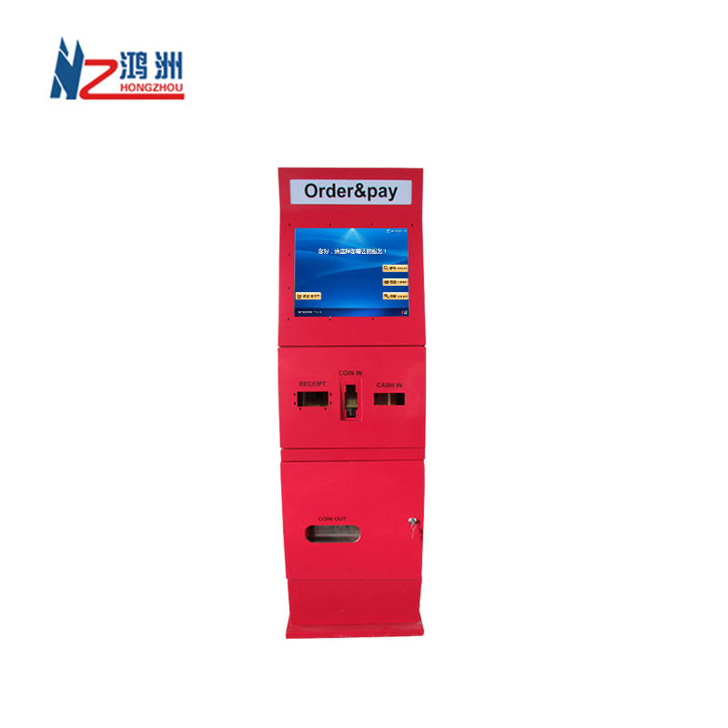 Hot sale PC android bill acceptor payment kiosk manufacturer