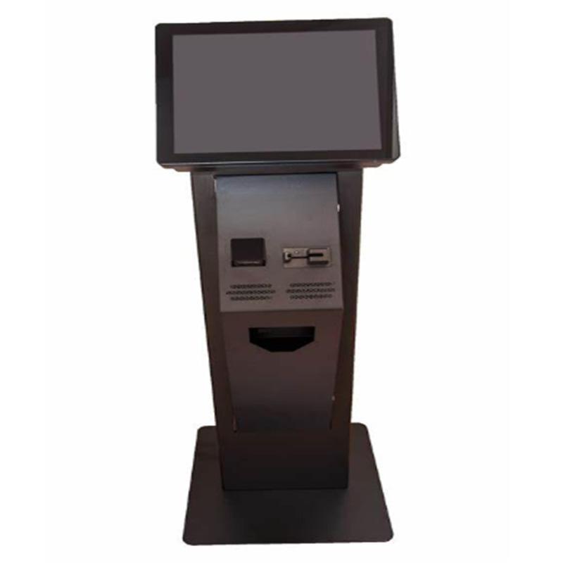 smart standing ticket dispensing kiosk ticket selling kiosk