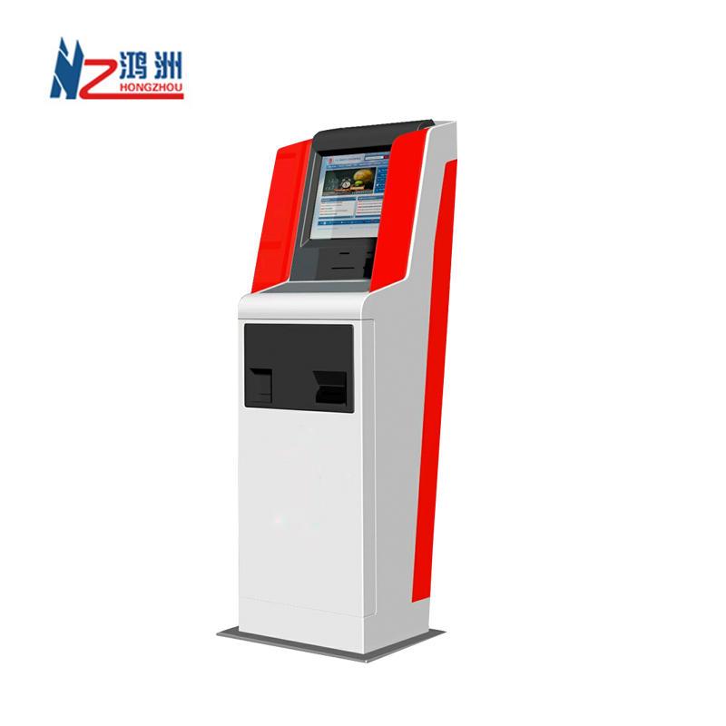 Cashless A4 laser printer bill payment kiosk china manufacturer