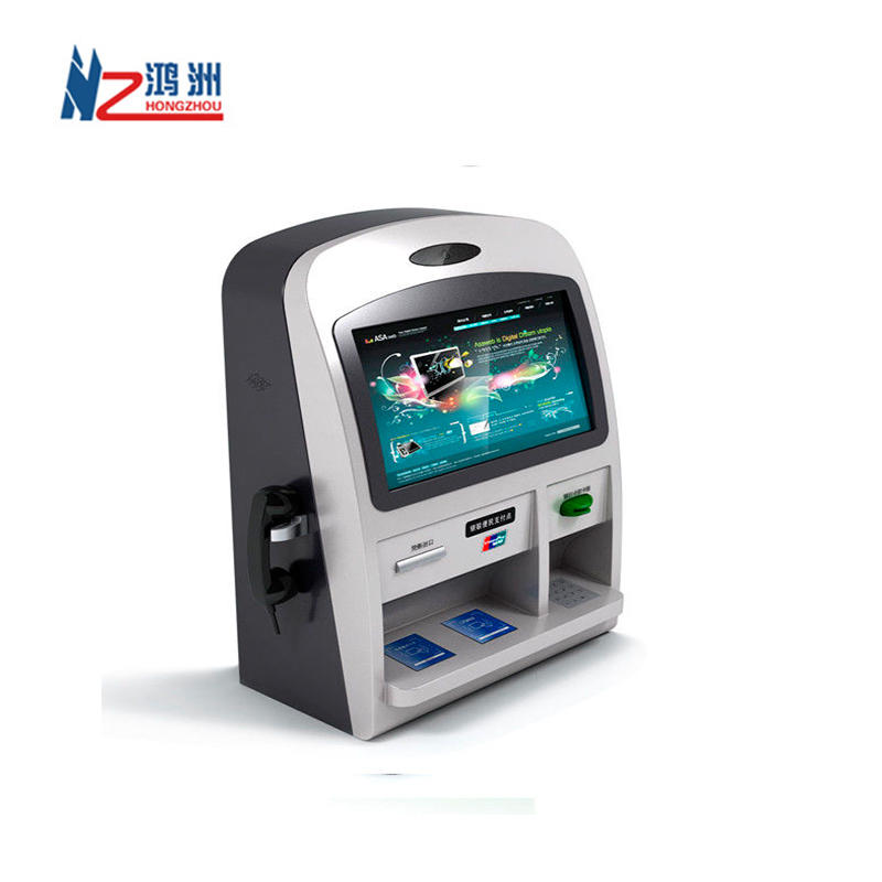 High Quality Wall Mounted Coin Dispenser Self Service ATM Kiosk