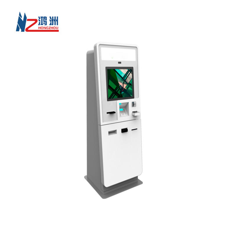 19 Inch Prepaid Card Vending Kiosk With Card Reader and Printer