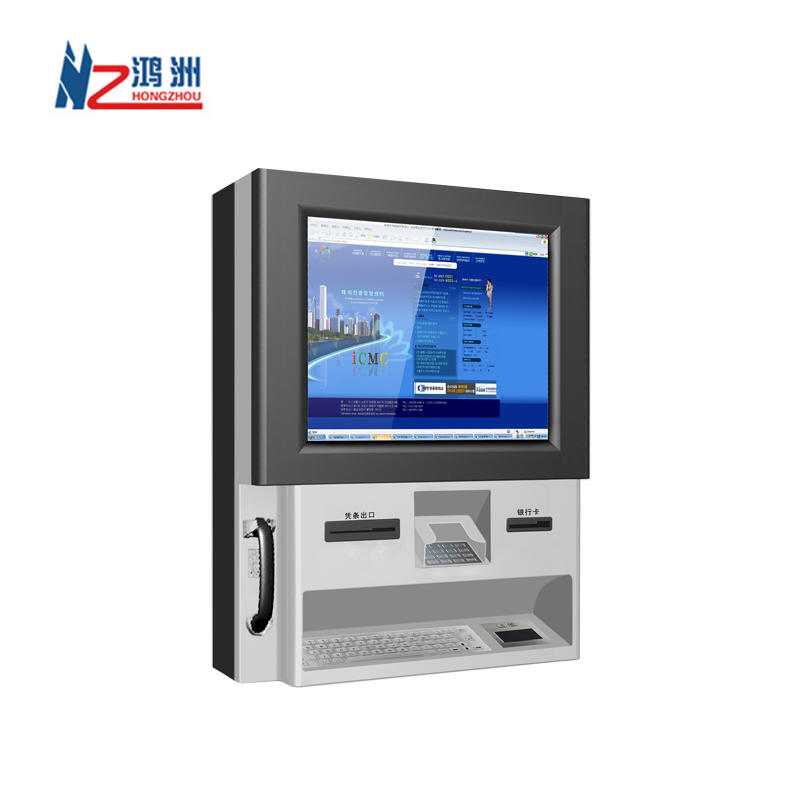 OEM wall mounted retail kiosk for check in with good quality