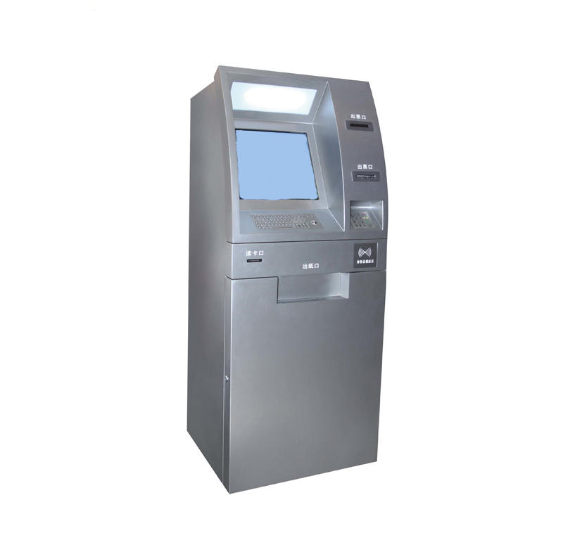 OEM ODM bill payment kiosk machine with smart POS machine in airport