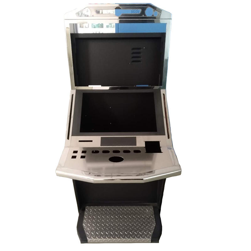 standing and smart gaming kiosk for game center smart and professional kiosk cabinet fabrication