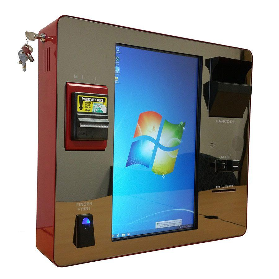 Interactive Wall mounted kiosk bill payment manufacturer