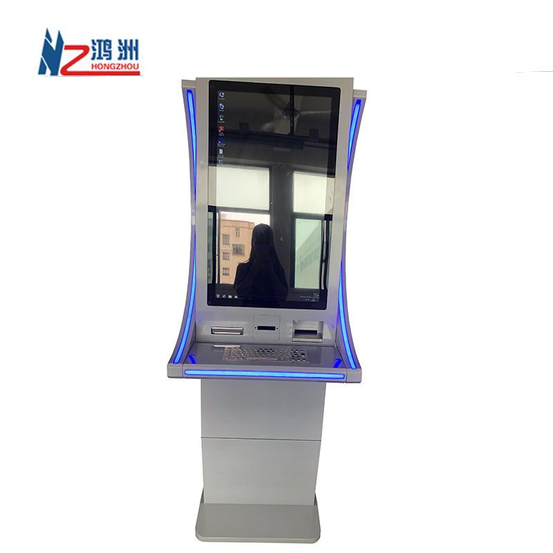 tickets Vending Dispense Machine Interactive Kiosk Bill Credit Card Payment