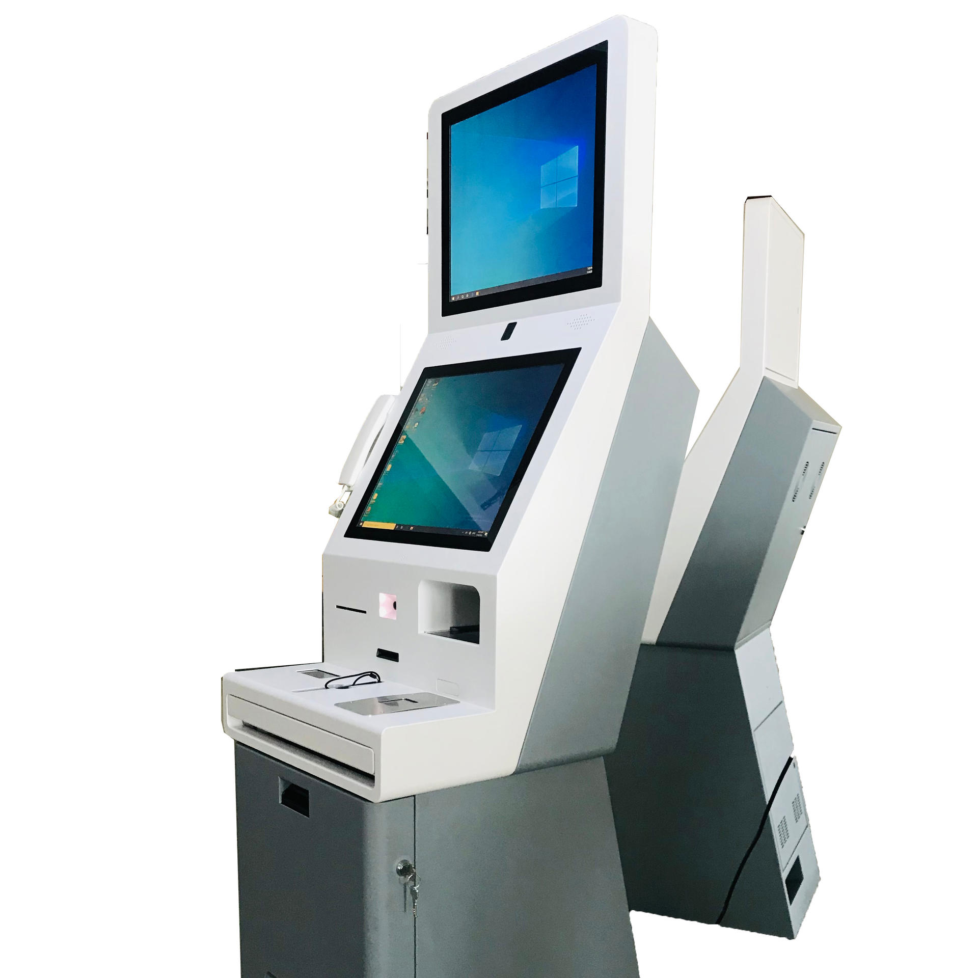 Windows OS Self Service Payment Machine Hotel Check in Kiosk