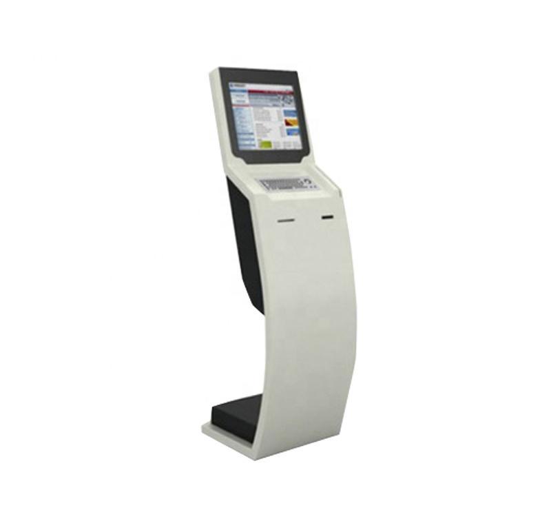 Shenzhen China self service cash register kiosk with thermal printer indoor