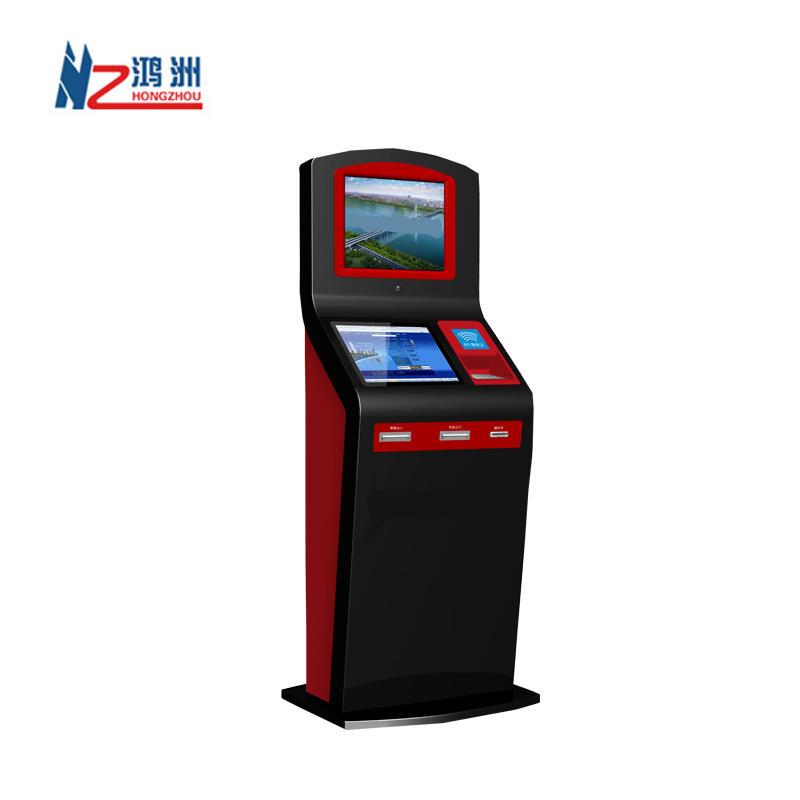 Digital menu restaurant order kiosks with payment function