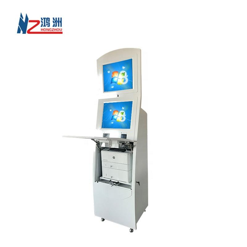 Good design self printer kiosk for line up in hospital with printer function