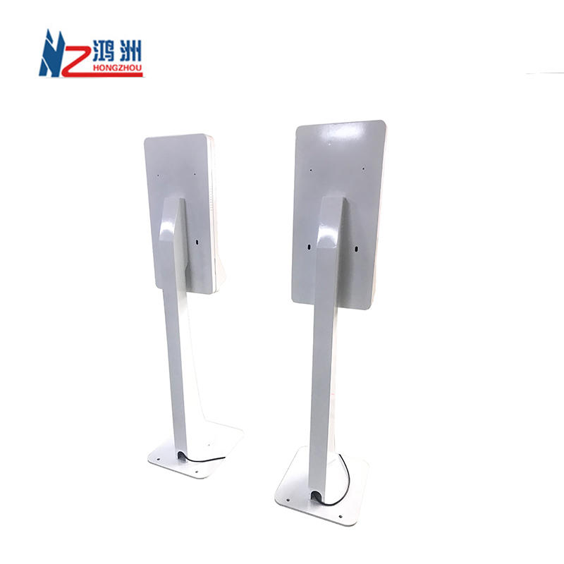 Self service card dispenser and ID card scanner touch screen kiosk for hotel check in