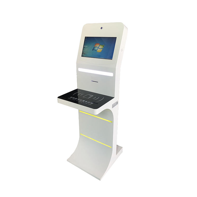 custom self service kiosk for books borrowing and returning