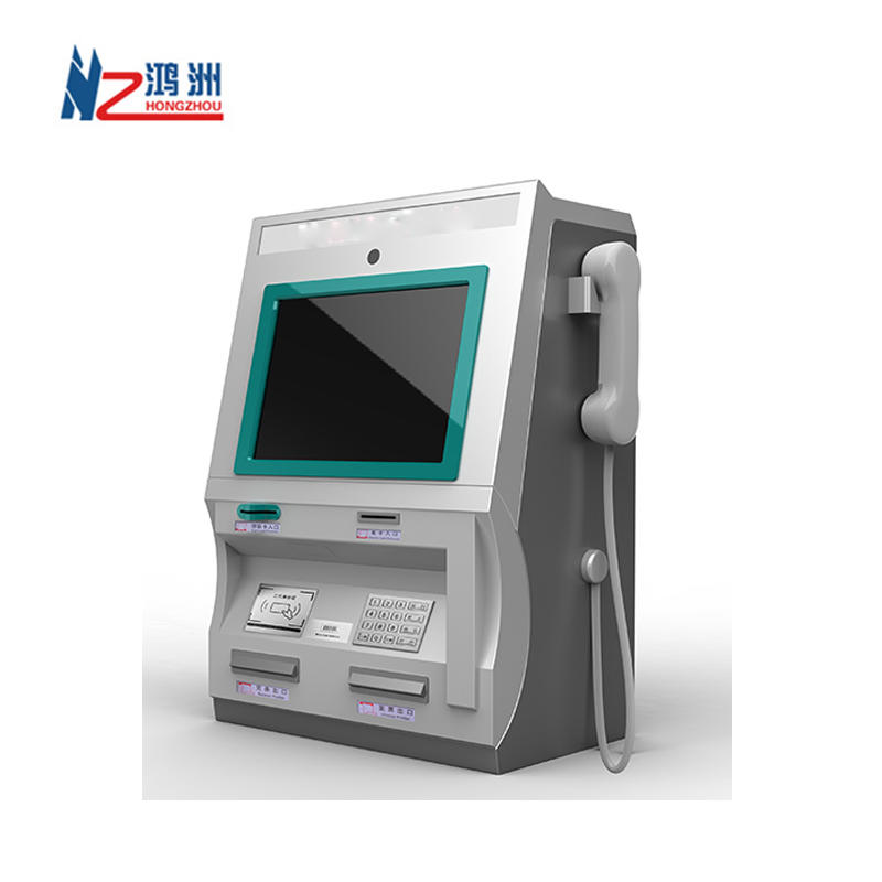 High quality Wall Mounted ATM Machine With Card reader