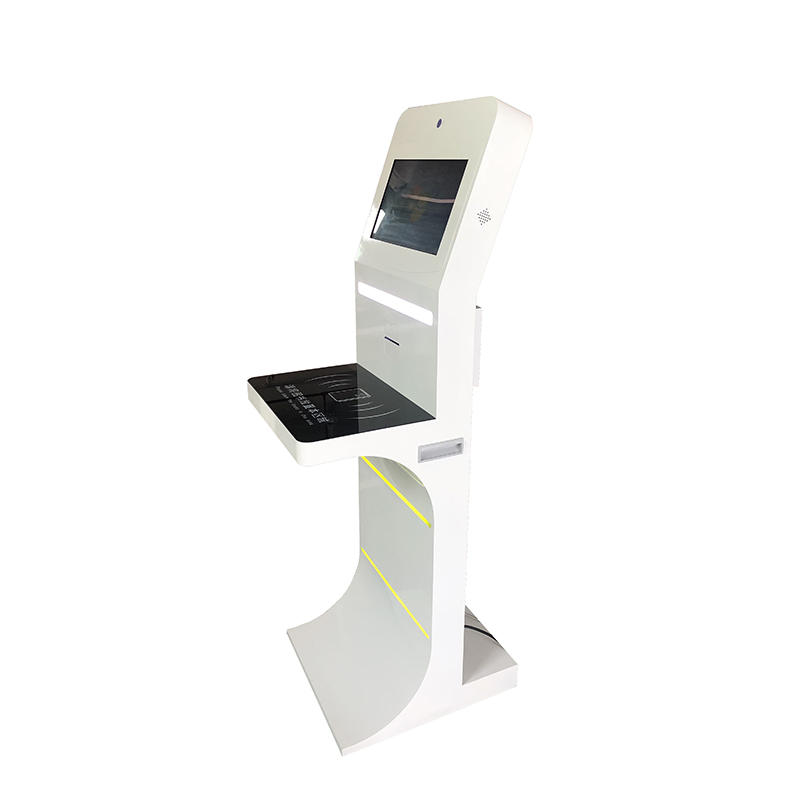 UHF RFID Modern Library Touch Screen Self-service Kiosk