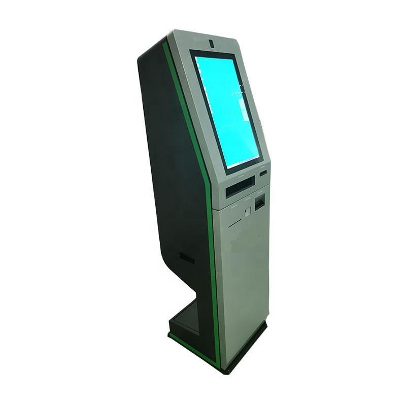 OEM card dispenser kiosk for self service check-in in hotel