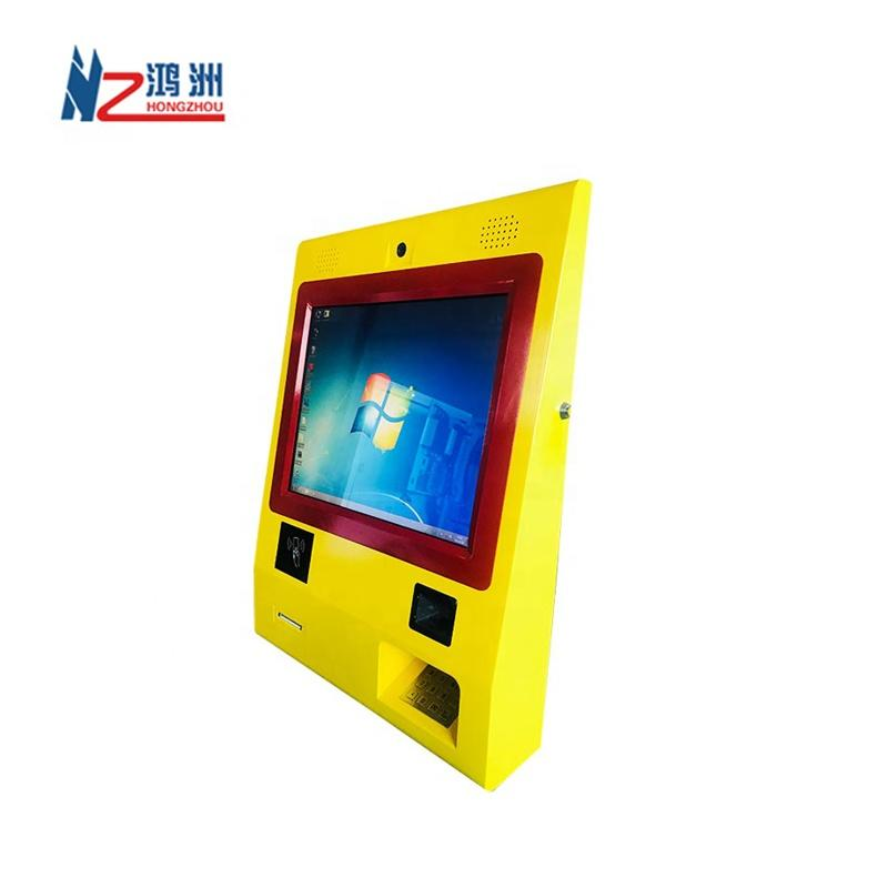 Bitcoin ATM Cash Payment Kiosk Ticket Vending Machine