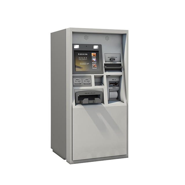 Hot selling wall mounted cash acceptor self-service bill payment kiosk