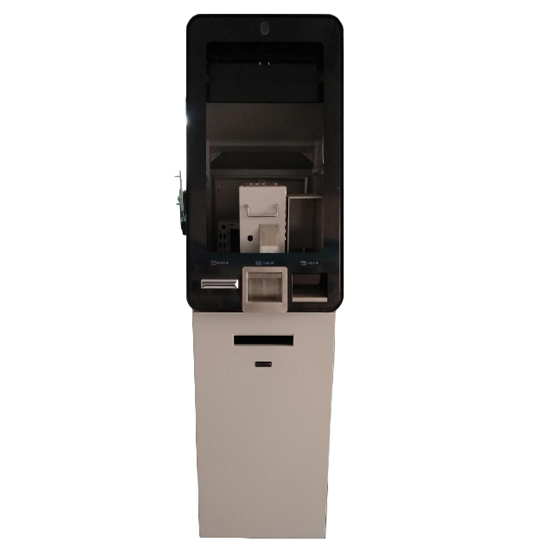 cash deposit self service kiosk