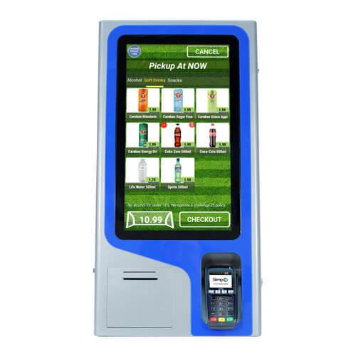 Freesranding payment interactive self service ordering Kiosk