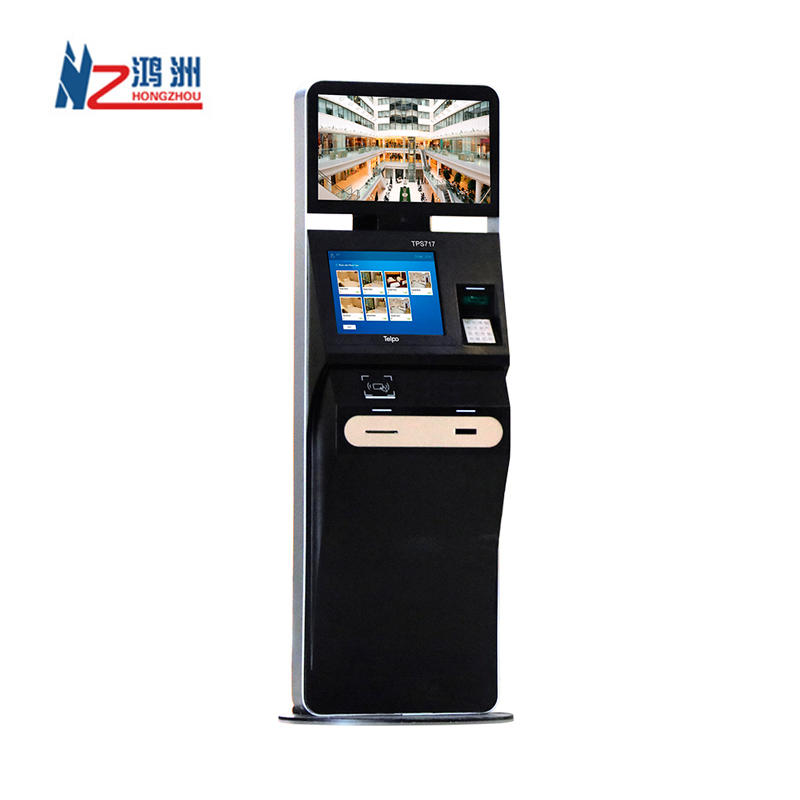 China Manufacture High Tech Hotel Lobby Check in Kiosk with Face Recognition