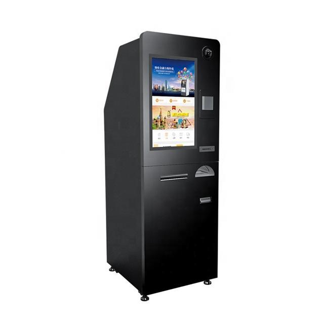 floor standing multiple foreign currency exchange machine/kiosk