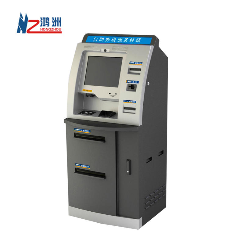 19 Inch Touch Screen Network Self Service Ordering Payment Kiosk