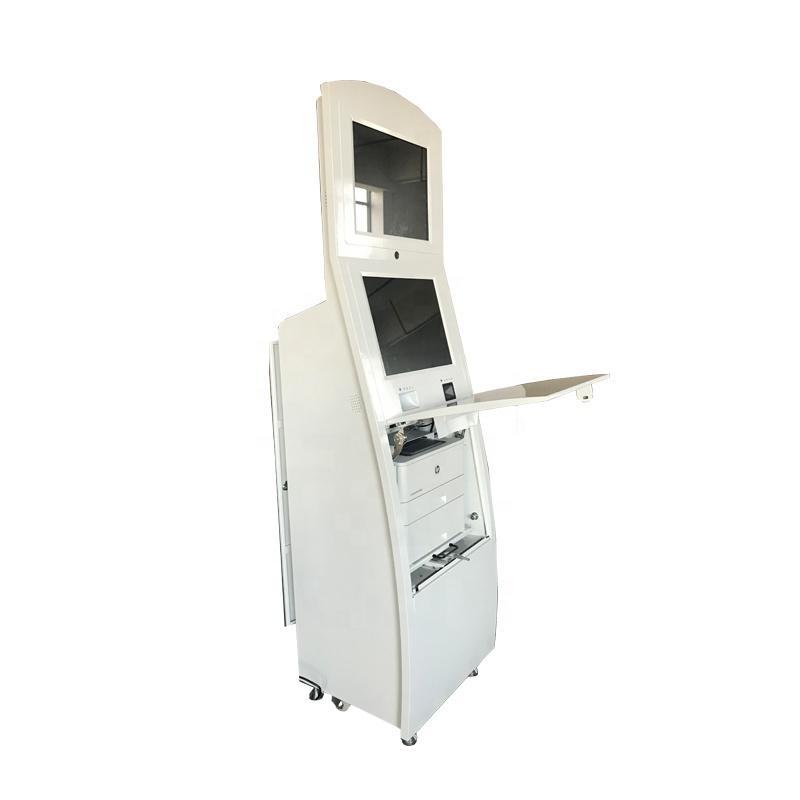 OEM self service visa passport kiosk with camera and thermal printer
