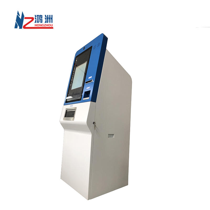 Self Service Coins To Cash Machine And Currency Exchange Kiosk