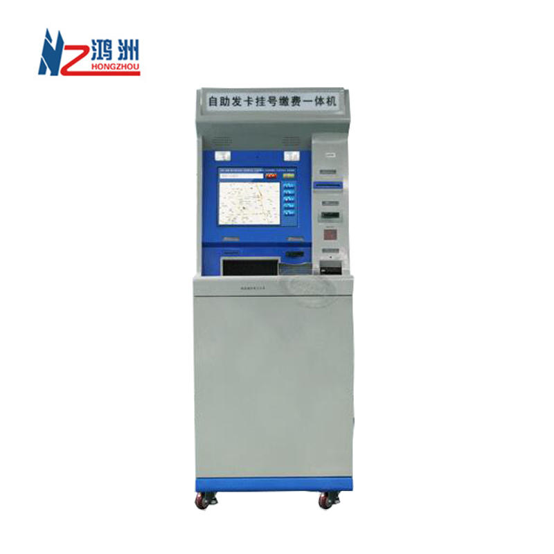Capacitive touch screen self service payment kiosk