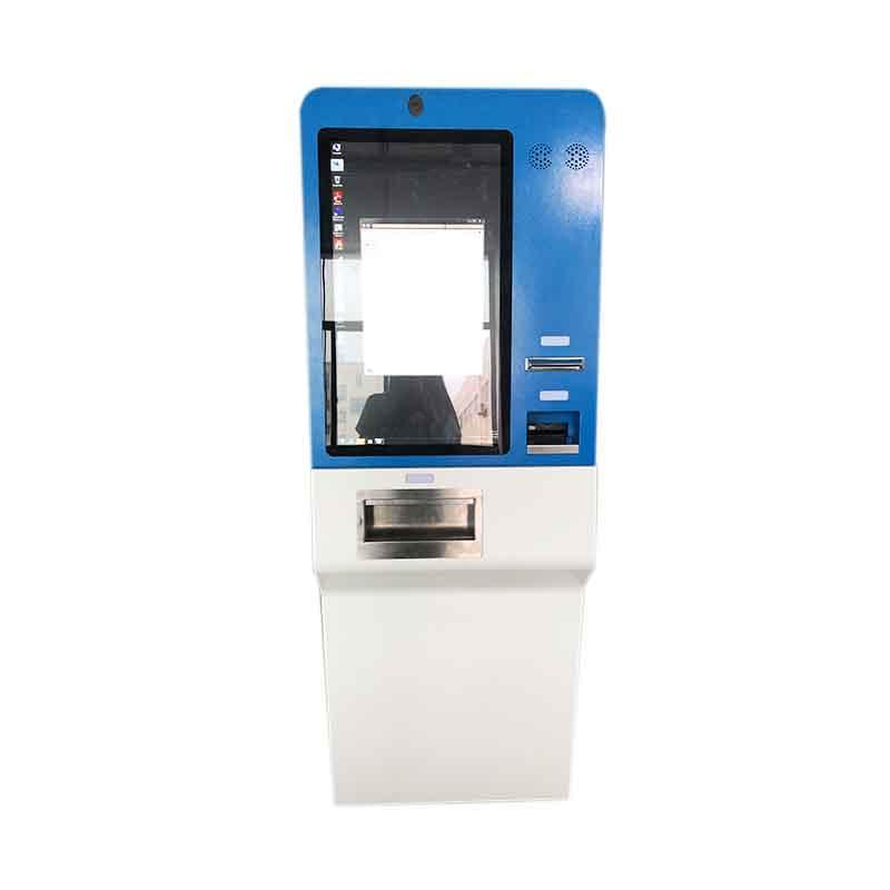 High Quality Touch Screen Cash Acceptor Payment Kiosk Bitcoin ATM