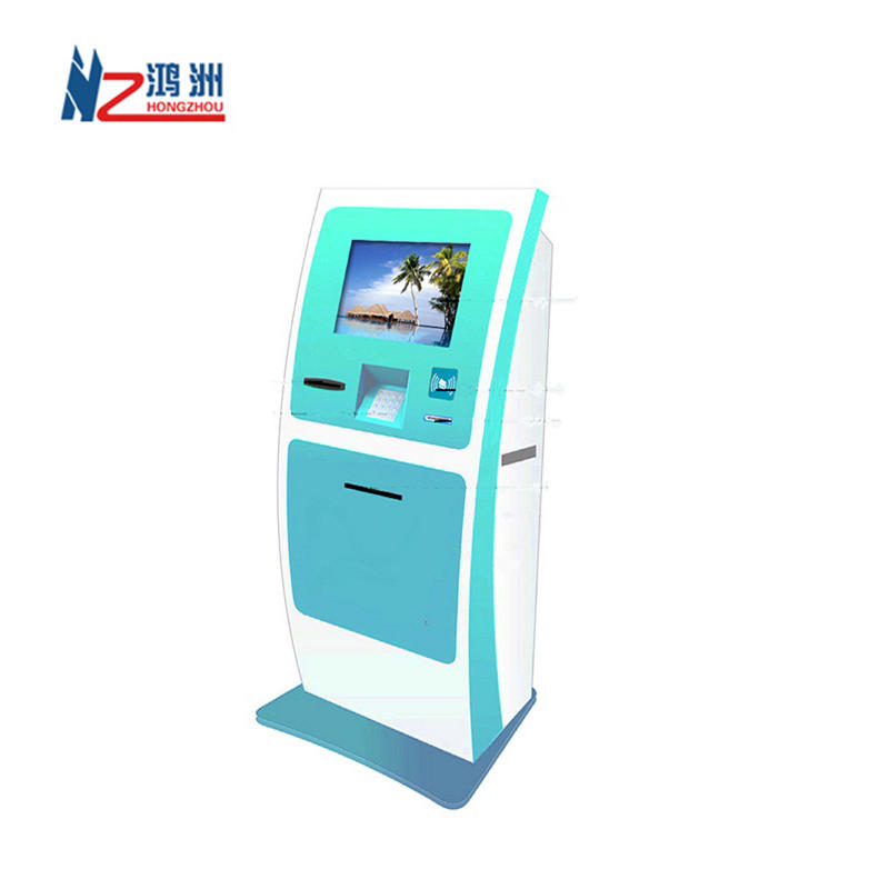 High quality kiosk ticket machine for car charging