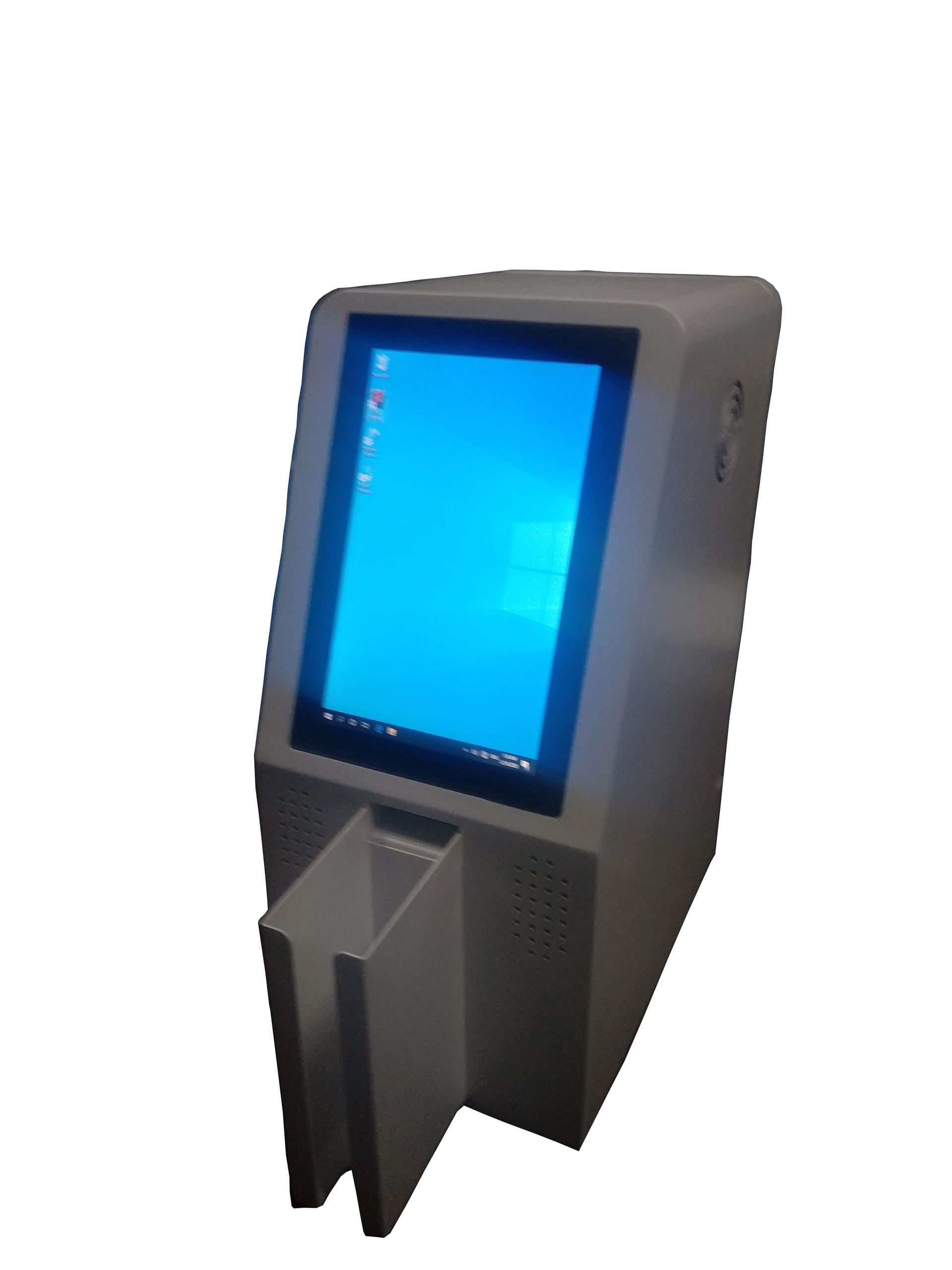 smart interactive card distribution kiosk with for office & hotel & public security room