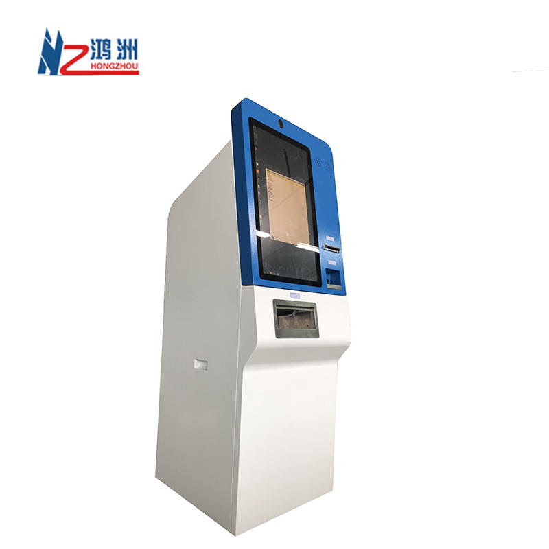 Floor Standing Cash Acceptor And Bill Dispenser Currency Exchange Machine Bitcoin Atm Machine