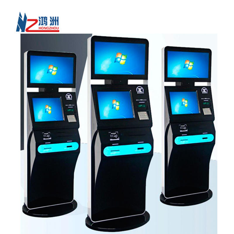 Payment machine self room card dispenser kiosk for hotel