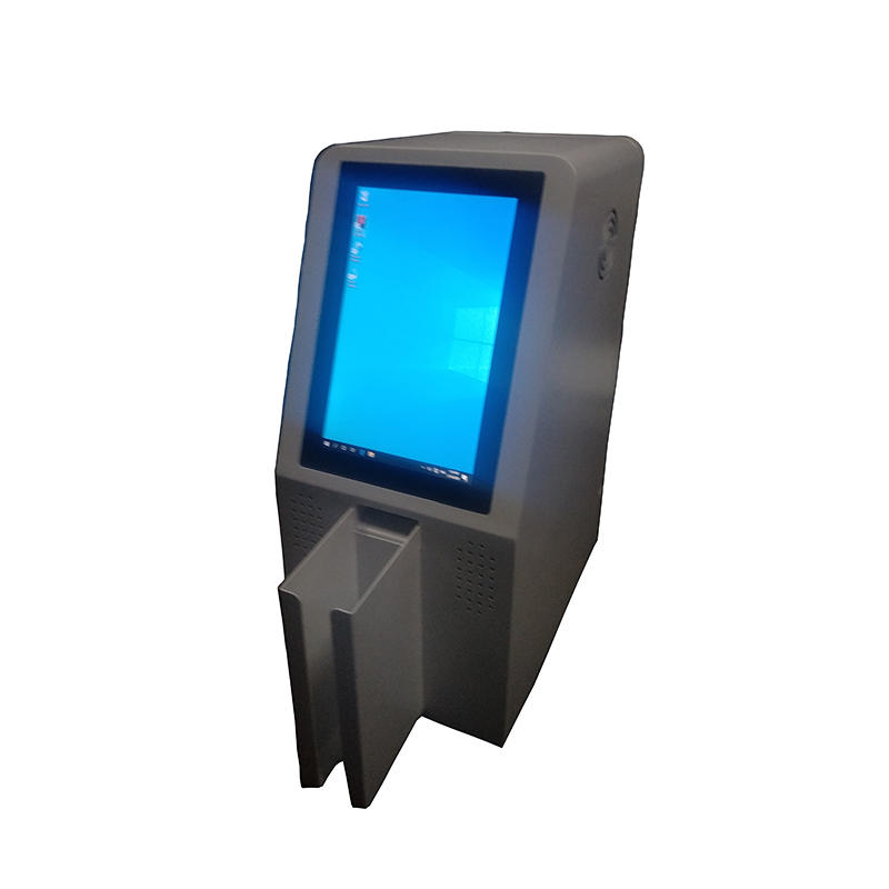 digital signage card dispensing kiosk with for office hotel public security room