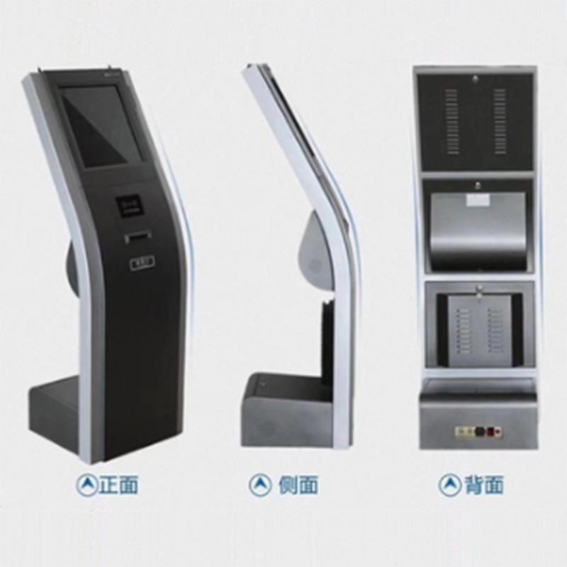 smart standing queuing terminal smart queuing kiosk