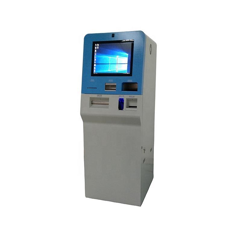 smart movebable currency exchange kiosk