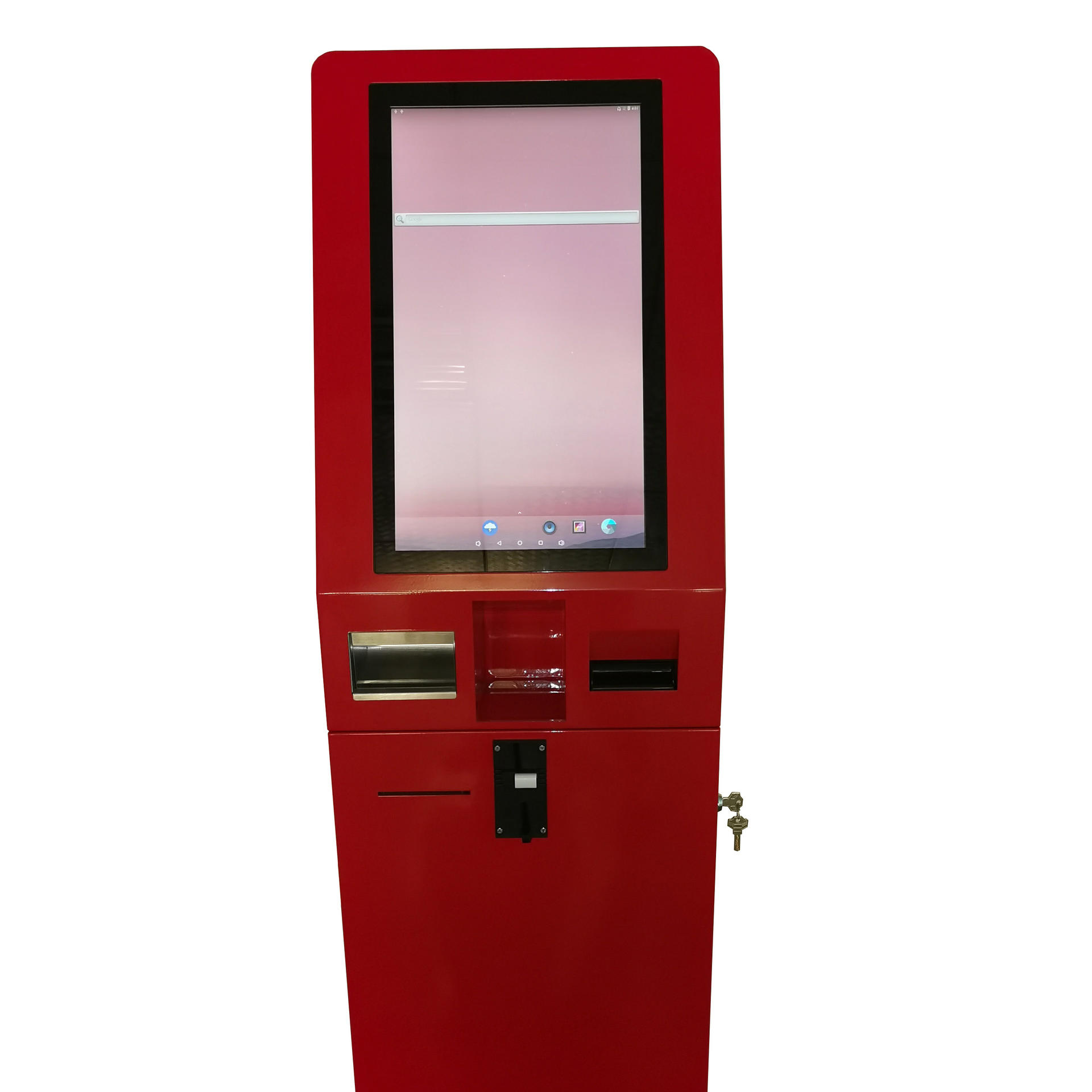 Smart Touch screen Self Service Ordering Payment Kiosk With Window/Android System