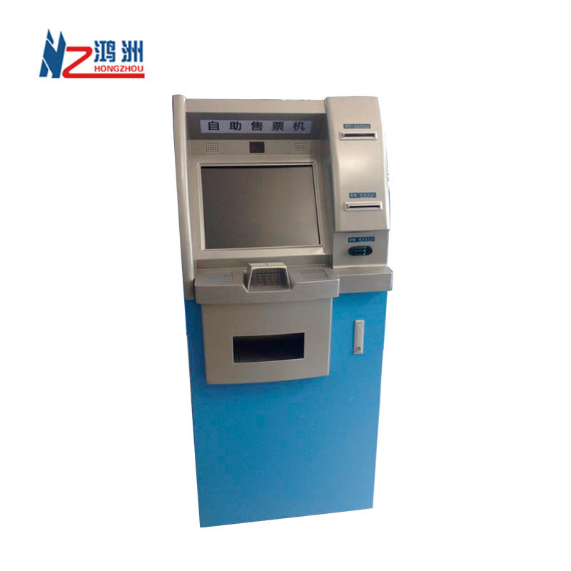 Deposit Withdraw Cash Bank Screen Kiosk China Manufacturer Wireless ATM Machines
