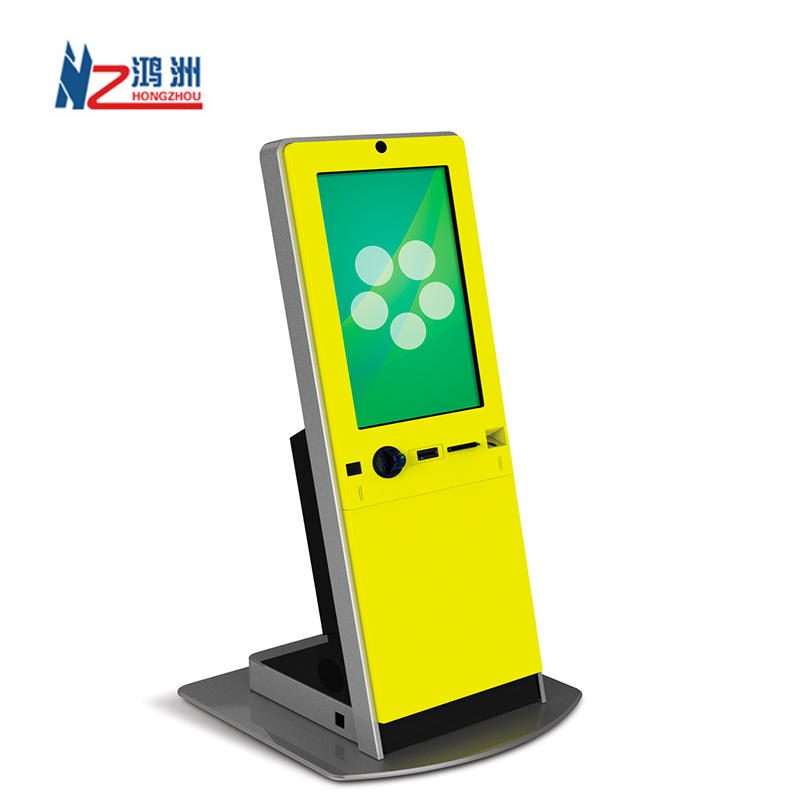 Floor Standing Interactive Kiosk Payment terminal self service Kiosk with built-in Printer