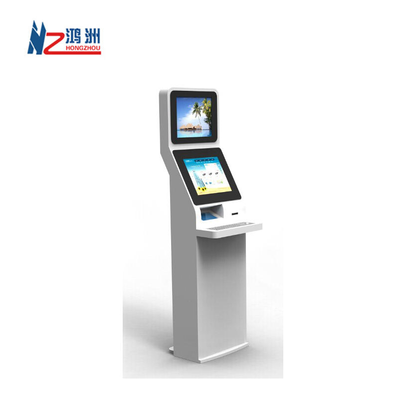 Beautiful design interactive payment terminal kiosk