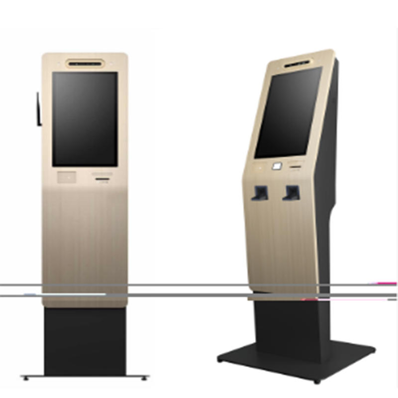 digital signage hotel check in check out kiosk