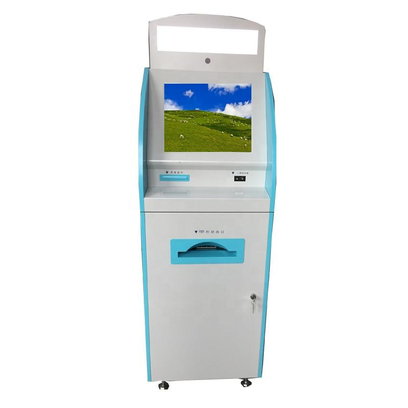Capacitive touchscreen self service payment kiosk in banking Shenzhen manufacturer for sale