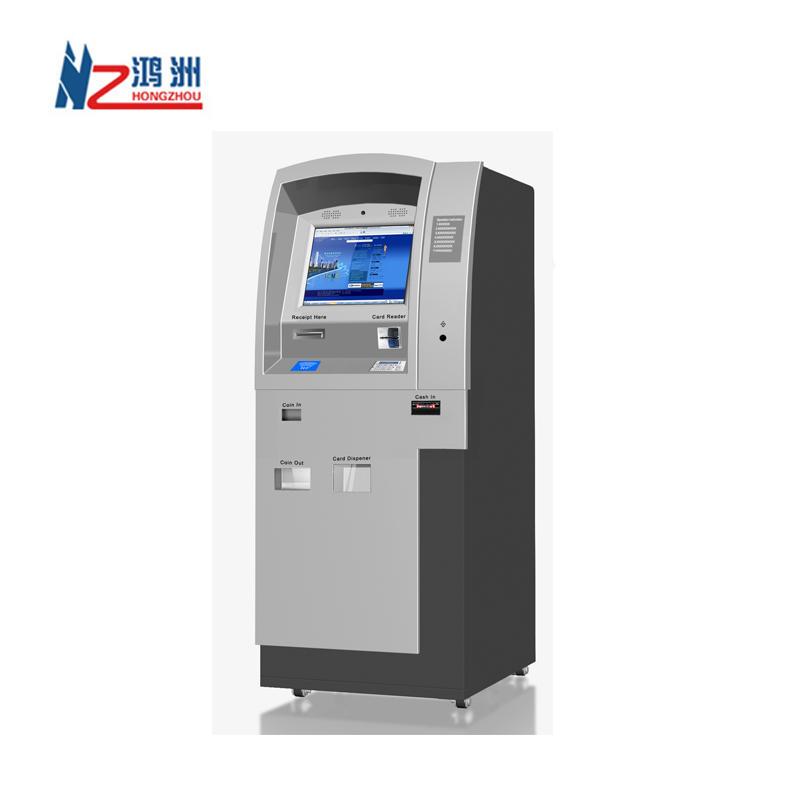 China ID card application self service kiosk Shenzhen manufacturer