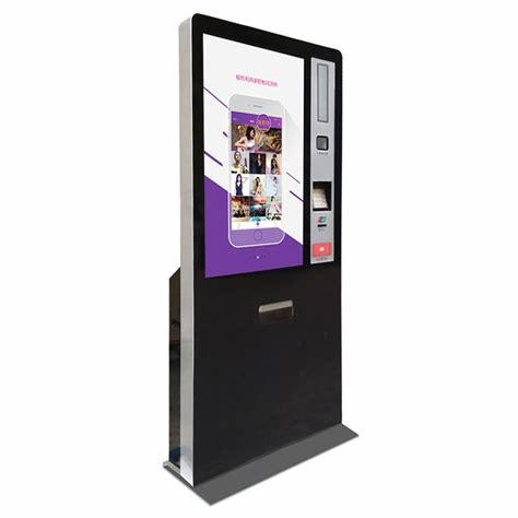 LED display mall design kiosk with android system in shopping mall