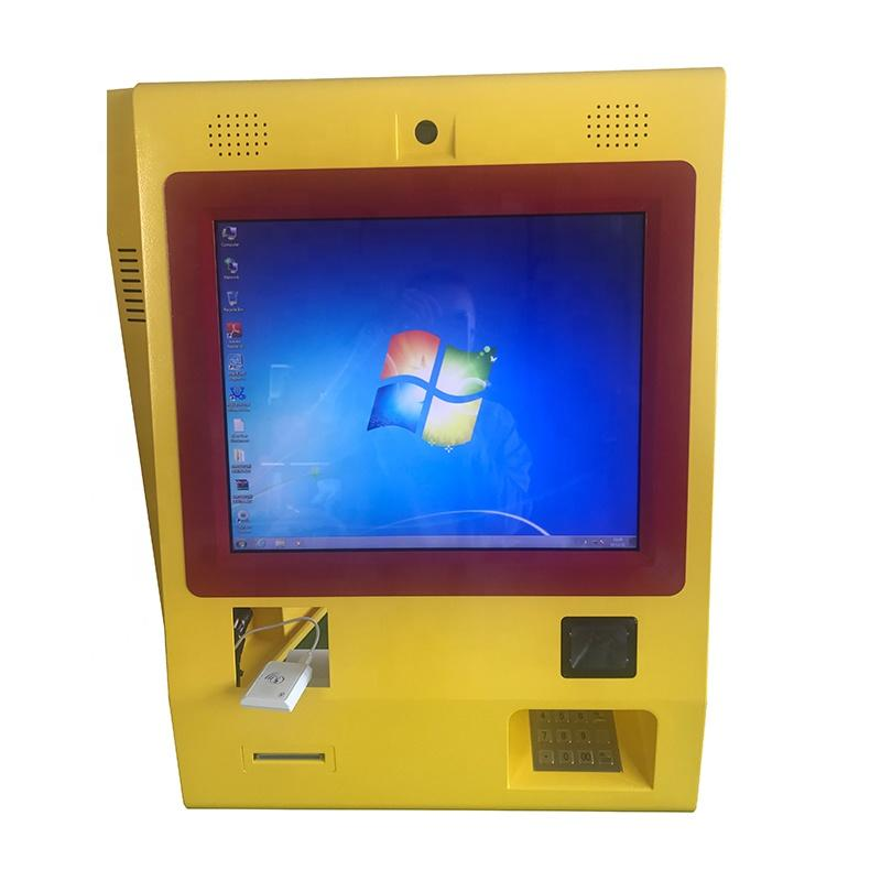 21.5 inch Win 10 wall mount touch payment kiosk